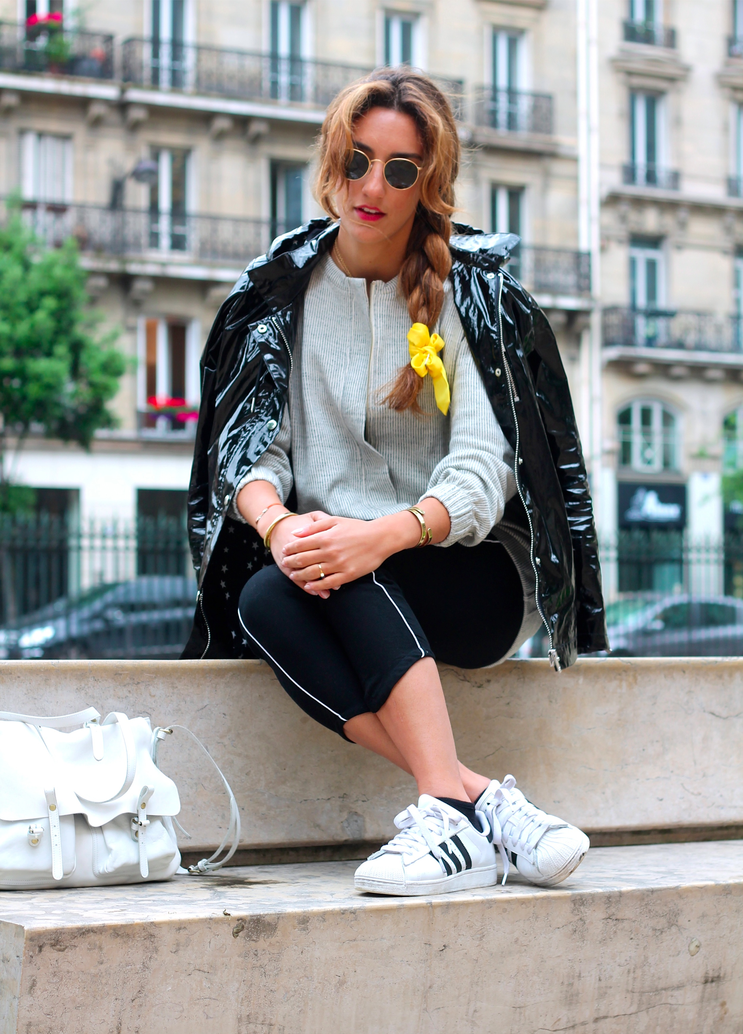 Adidas Superstar 2 Femme Porté