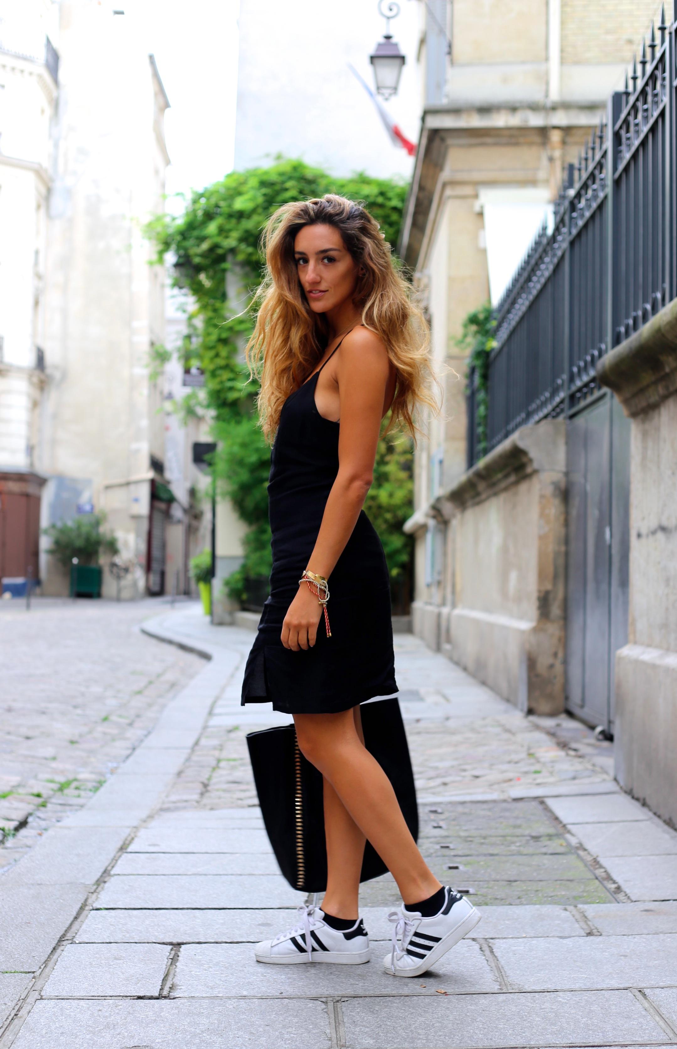 adidas superstar avec robe