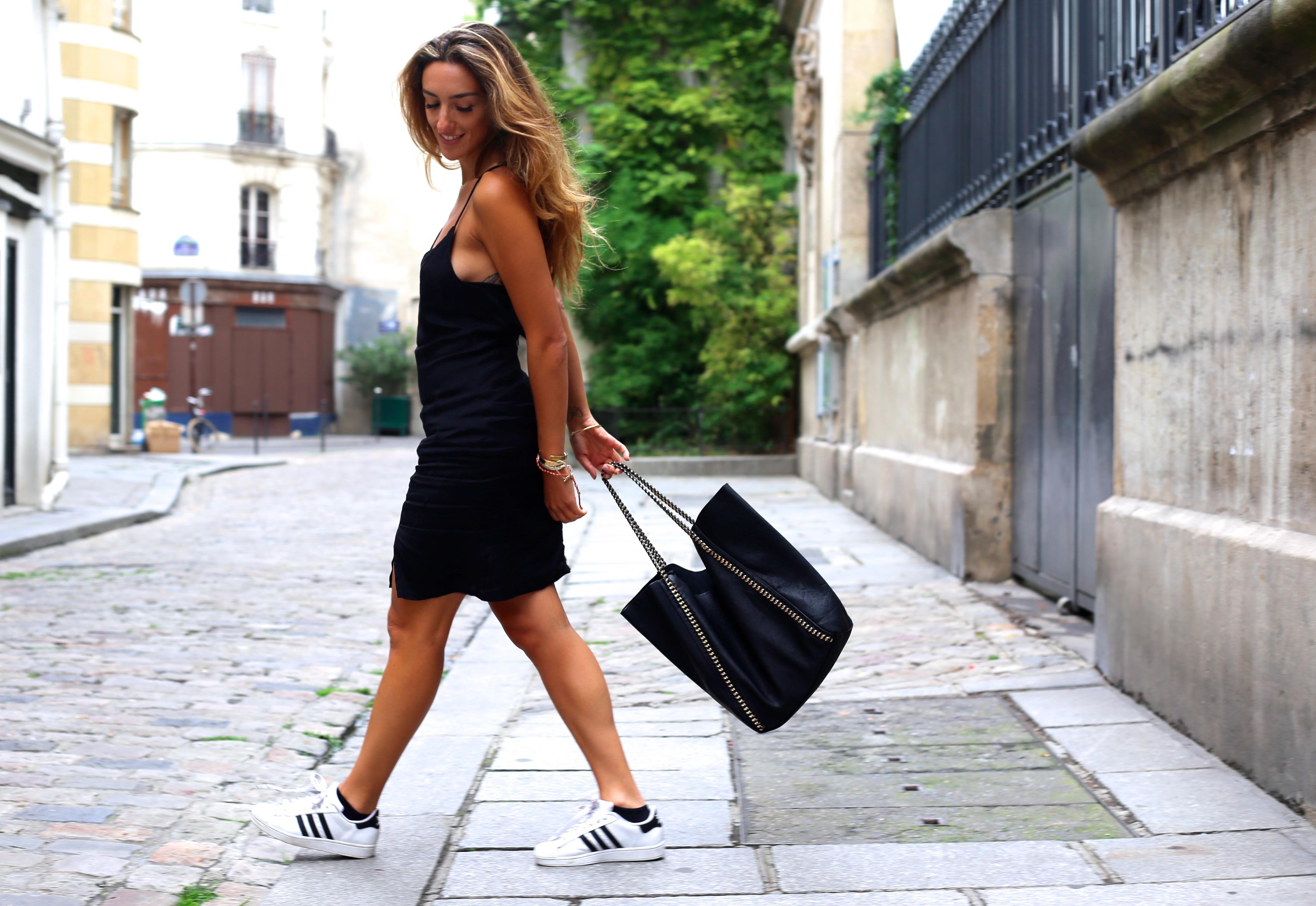 adidas superstar et robe